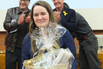 Erola wins the first prize